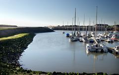 Harbour (davidpemberton78) Tags: harbour shore boats winter sunlight portbail manche cotentin bassenormandie