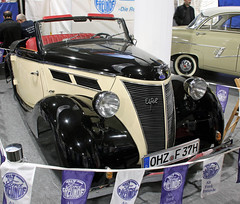 German Ford (Schwanzus_Longus) Tags: bremen classic motorshow german germany old vintage car vehicle cabrio cabriolet convertible topless ford eifel