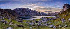 somiedo3 (fotoluisma) Tags: atardecer lago paisaje