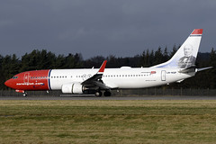 LN-NGP Norwegian Air Shuttle 'Ivar Assen' Boeing 737-8JP(WL) at Edinburgh Turnhouse Airport on 16 February 2020 (Zone 49 Photography) Tags: aircraft airliner aeroplane february 2020 edinburgh scotland egph edi turnhouse airport le nsw norwegianairshuttle norwegian air shuttle boeing737 boeing 737 738 800 8jp wl lnngp ivarassen