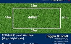 12 Rabbit Crescent, Werribee VIC