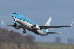 Boeing 737-8K2 PH-BXD KLM (Mark McEwan) Tags: boeing klm b737 boeing737 royaldutchairlines phbxd boeing7378k2 airplane edinburgh aircraft aviation edi airliner edinburghairport