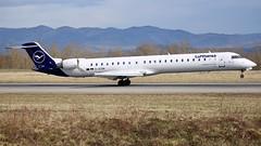D-ACNR (Breitling Jet Team) Tags: dacnr lufthansa cityline bombardier crj900lr euroairport bsl mlh basel flughafen lfsb eap