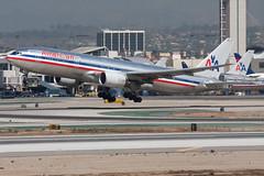 2009_10_02 KLAX stock-5 (photoJDL) Tags: 777 777200 americanairlines americanairlines777200 boeing777 jdlmultimedia jeremydwyerlindgren klax lax losangelesinternationalairport n751an aircraft airline airplane airport aviation
