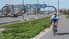 SJC was second major airport we passed (Alexander Komlik) Tags: vacation cycling valentines sanjose california unitedstates