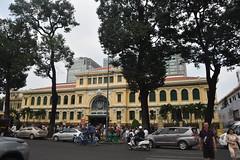 General Post Office (Bangkok Bloke 2018) Tags: vietnam asia christmas december tropical cruise city harbour ocean ships hochiminhcity saigon colonial