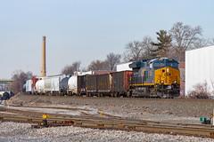CSX ET44AC 3325 (rmssch89) Tags: train railroad railway diesel bergen county northern north newjersey locomotive engine freight intermodal manifest ge general electric