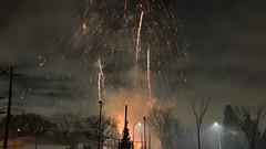 Family Day Fireworks at Meadowlark Community League 2020 (livingsanctuary) Tags: edmonton yeg yegphotographer familyday fireworks