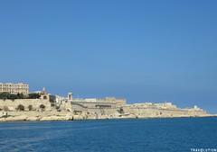 Valletta, Malta (World of Travolution) Tags: ocean fortress history wall harbour mediteranean sea eu europe holiday travel