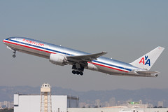 2009_10_02 KLAX stock-7 (photoJDL) Tags: 777 777200 americanairlines americanairlines777200 boeing777 jdlmultimedia jeremydwyerlindgren klax lax losangelesinternationalairport n751an aircraft airline airplane airport aviation