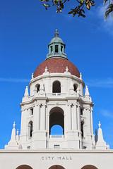 City Hall - Pasadena, California (russ david) Tags: pasadena city hall california ca architecture travel courtyard fountain april 2019
