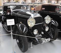 1930 Bentley 4.5 Litre Black label (D70) Tags: southwardcarmuseum paraparaumu newzealand 1930 bentley 45litre blacklabel england 4cyl 4valvespercylinder ohcengine wobentleydesign