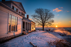 Freezing Cold (Neil Cornwall) Tags: 2020 canada colchester essexcounty february johnrparkhomestead ontario sunrise winter