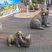 Mother Bear and Cubs Street Art, Redmond