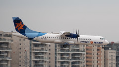 Israir AT75, 4X-ATH, TLV (LLBG Spotter) Tags: israir aircraft tlv 4xath airline atr72 llbg