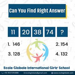 Quiz time! (ecoleglobalschool) Tags: ecoleglobale quiz mathquiz numberquiz quiztime dehradun india picoftheday students answerthis questionoftheday