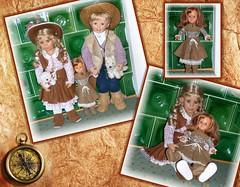 Fasching / Carnival (ursula.valtiner) Tags: puppe doll luis bärbel künstlerpuppe masterpiecedoll petra fasching carnival faschingskostüm carnivalcostume cowboy cowgirl stiefel boots