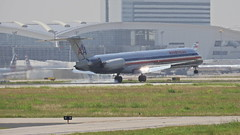 Md80 (conehead787) Tags: boeing md80 american americanairlines
