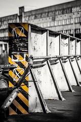 X (A.K. 90) Tags: colorkey blackandwhite schwarzweis street city focus urbex urbandecay abandoned lostplace creative kreativ artist art artistic kunst strase building architecture architektur old bridge thüringerwald thüringen sonyalpha6300 fe85mm18