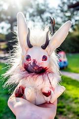 killer rabbit (emily_harg1992) Tags: jackalope bunny rabbit blood killer