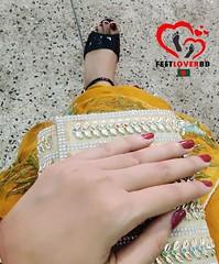 high heels feet (feetloverbd) Tags: respectwomen feet👣 feetloverbd feetlover desigirl feet anklet girlsfeet feetworship bengalifeet feetpics feetqueenbd feetblogger followus bengali bangladesh feetloverbangladesh bangladeshifeetlover black highheels highheellover yellowdress