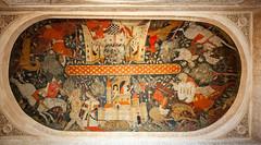 Sala de los Reyes (kong niffe) Tags: saladelosreyes alhambra españa spain spania hallofthekings palace moorish moors muslim islam art christian leather story sequence ceiling european