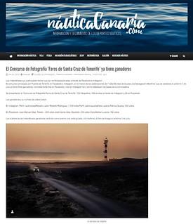 Publicación en nauticacanaria.com