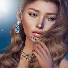 ♥ (♛Lolita♔Model-Blogger) Tags: lolitaparagorn mila euphoric supernatural slavia blog blogger blogs beauty bodymesh bento