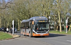 9421 Tram 44 (brossel 8260) Tags: belgique bruxelles stib bus volvo