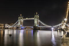 Tower Bridge at night (Newdawn images) Tags: towerbridge london riverthames nightshoot nightphotography longexposure canoneos5dmarkiv canonef24105mmf4lisusm