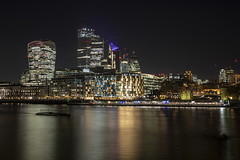 City Skyline (Newdawn images) Tags: city london riverthames nightshoot nightphotography longexposure canoneos5dmarkiv canonef24105mmf4lisusm