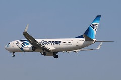 SU-GEK - MAD (B747GAL) Tags: egyptair boeing b737866 madrid mad sugek