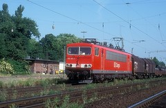 155 181  Porz  28.05.99 (w. + h. brutzer) Tags: dr db 250 155 analog train germany deutschland nikon eisenbahn railway zug trains locomotive lokomotive elok eisenbahnen eloks webru albumhubertboob porz