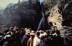 Reichenbach - the fatal struggle (photo courtesy of Tim Owen)
