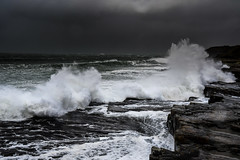 Wild Coast (Matts__Pics) Tags: donegal wildatlanticway waves ocean stormdennis rocks moody