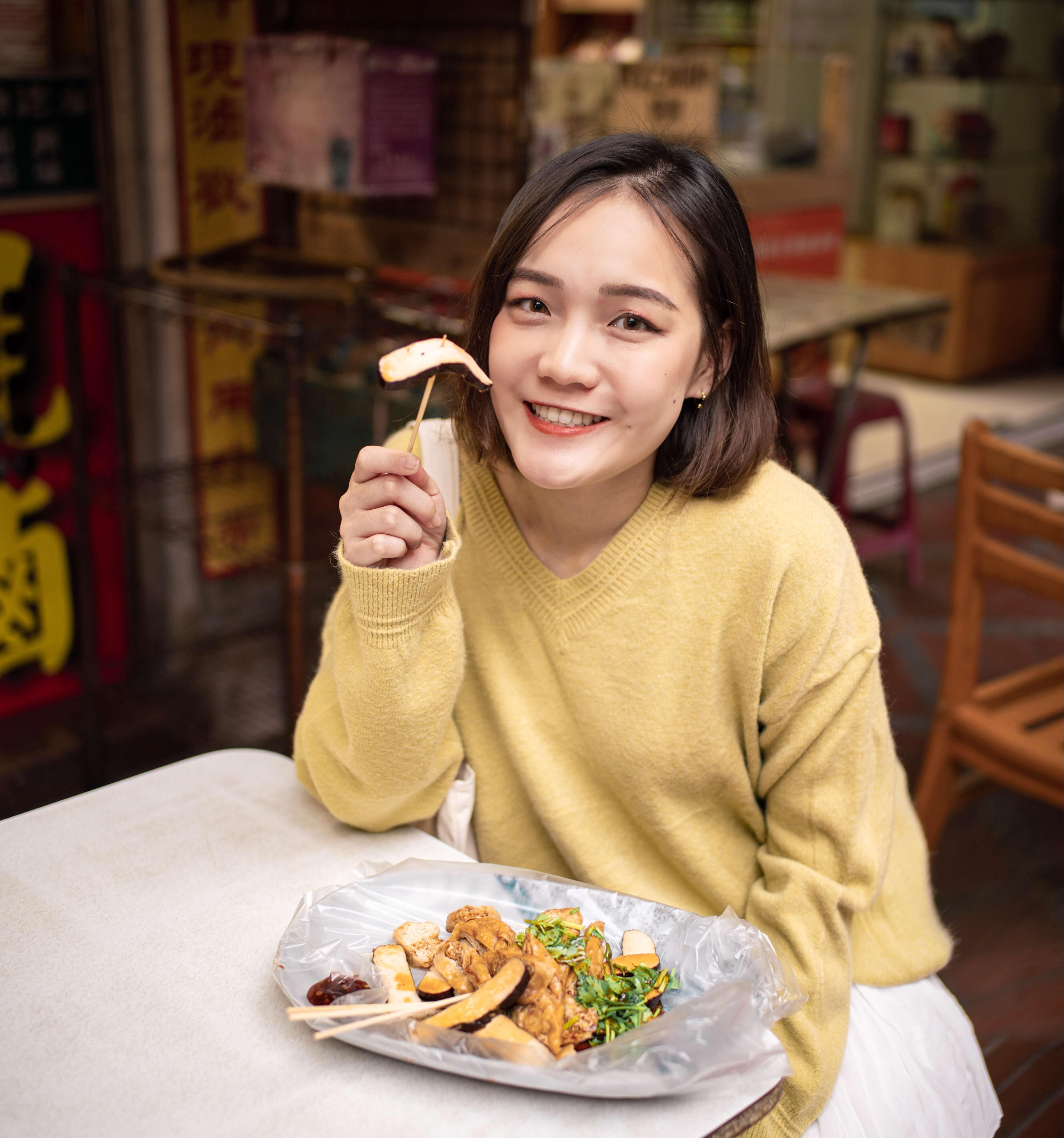 大溪老街必吃美食景點推薦 黃大目豆干