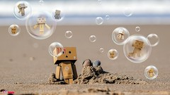 Bubbles in Danbo Word - 8099 (✵ΨᗩSᗰIᘉᗴ HᗴᘉS✵93 000 000 THXS) Tags: crazytuesdaytheme crazytuesday bubbles danbo danboard plage paya sand mer zee see crazy fun smile seashell two deux duo manipulation photoshop sony sonydscrx10m4 belgium europa aaa namuroise look photo friends be yasminehens interest eu fr 123faves party greatphotographers lanamuroise flickering challenge burbujas bulles