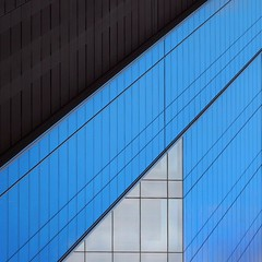 Simple Abstract (2n2907) Tags: abstract architecture glass office building windows skyscraper graphic geometric geometry pattern lines diagonal urban city minimal simple minimalism minimalistic