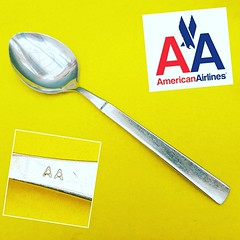 American Airlines 04 (Airline_Spoons) Tags: airline teaspoon airlinefood travelblogger instafood aviation airplane airlinecutlery instagramaviation plane planes collection collector flying airlinespoons instaplane cucharita travel crew crewlife instaaviation avgeek avporn aircraft fly cabincrew businessclass americanairlines usa