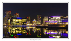 Media City (Kev Walker ¦ Thank You 4 Comments n Faves) Tags: architecture building city england manchester mediacity panoramic river salfordquays sunset water bbc blue bridge britain british broadcasting buildings canal centre cityscape commercial dock dusk english footbridge kingdom landmark lowry media mediacitymanchester mediacitysalford mediacityuk millenniumbridge modern modernarchitecture night north quay quays quayside radio reflection reflectioninwater salford shipcanal skyline skyscraper studios travel tv uk urban nikon
