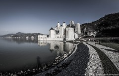 Golubac fortress and Danube river (Andrija Zecevic Photography) Tags: canon serbia golubac fortress danube river dunav donau srbija landscape beautiful view colors bw