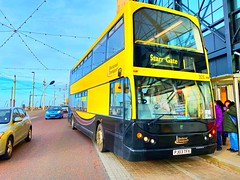 Photo of Blackpool Transport (PJ03 TFX - 315) is operating the 1 to Starr Gate, seen here at Promenade Road.