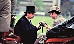Interlaken - Watson & Holmes *Tim Owen & Philip Porter) set out for the Kursaal (photo courtesy of Tim Owen)