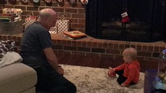 """Grandpa Miller with Luc on Thanksgiving • <a style=""""font-size:0.8em;"""" href=""""http://www.flickr.com/photos/109120354@N07/49548094978/"""" target=""""_blank"""">View on Flickr</a>"""