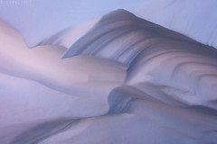 Wind's play (Ron Jansen - EyeSeeLight Photography) Tags: norway winter snow shape wind texture color light lines depth shapes sculpture by nature