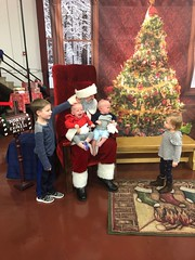 "Visiting Santa • <a style=""font-size:0.8em;"" href=""http://www.flickr.com/photos/109120354@N07/49548331193/"" target=""_blank"">View on Flickr</a>"