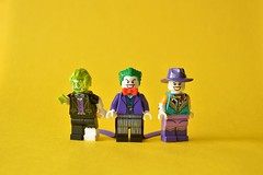 Jokers (th_squirrel) Tags: lego dc comics joker ace chemical acid red hood cowboy minifig minifigure minifigs minifigures batman