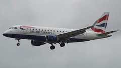 British Airways Embraer E170STD G-LCYF (TOA Planespotting) Tags: embraer e170std glcyf britishairways avgeek lcy