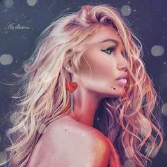 :: (SabrinaPal.) Tags: november earring sl secondlife morph photoshop genus mesh