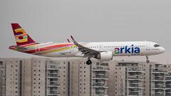 Arkia A21N, 4X-AGK, TLV (LLBG Spotter) Tags: aircraft airline tlv a21n 4xagk arkia llbg